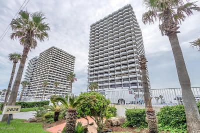 Daytona Beach Condo/Townhouse For Sale: 2828 N Atlantic Avenue #1503