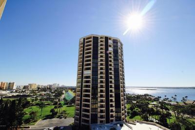 Daytona Beach Shores Condo/Townhouse For Sale: 1 Oceans West Boulevard #5A1