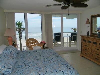 Daytona Beach Shores Condo/Townhouse For Sale: 3555 S Atlantic Avenue #202