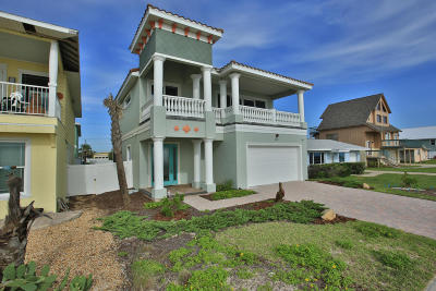 Flagler Beach Single Family Home For Sale: 2282 S Ocean Shore Boulevard