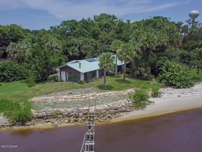 Daytona Beach Single Family Home For Sale: 2756 S Peninsula Drive