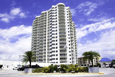 Daytona Beach Shores Condo/Townhouse For Sale: 2 Oceans West Boulevard #600