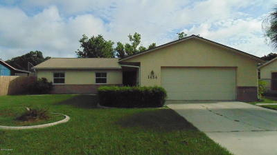 Port Orange Single Family Home For Sale: 1454 Craig Court
