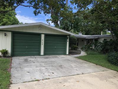 South Daytona Single Family Home For Sale: 2146 Pope Avenue