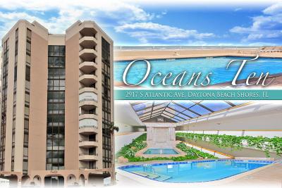 Daytona Beach Shores Condo/Townhouse For Sale: 2917 S Atlantic Avenue #603