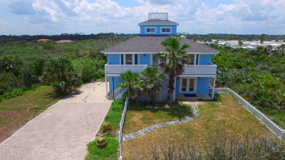 Flagler Beach Single Family Home For Sale: 2724 N Ocean Shore Boulevard