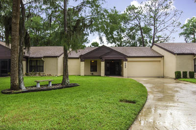 Volusia County Attached For Sale: 166 Sea Pines Circle