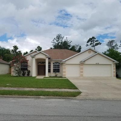 Volusia County Single Family Home For Sale: 6035 Spruce Point Circle