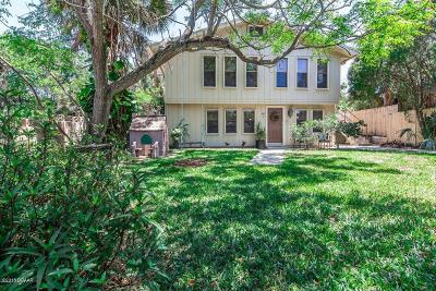 Daytona Beach Single Family Home For Sale: 402 N Wild Olive Avenue