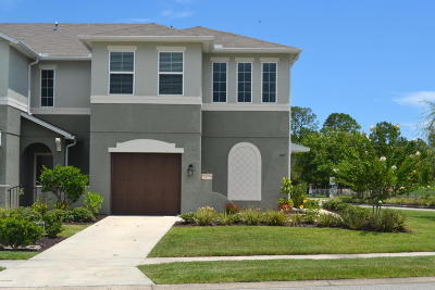 Volusia County Attached For Sale: 100 Tarracina Way