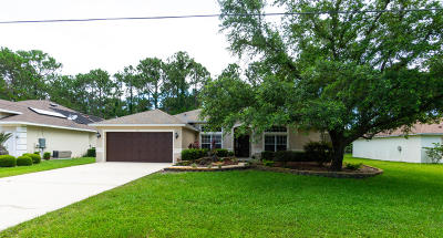 Palm Coast FL Single Family Home For Sale: $219,600
