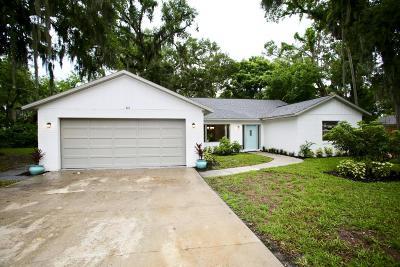 Daytona Beach Single Family Home For Sale: 345 N Frederick Avenue