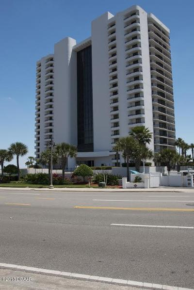 Daytona Beach Shores Condo/Townhouse For Sale: 2555 S Atlantic Avenue #1502