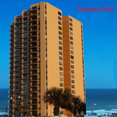Daytona Beach Condo/Townhouse For Sale: 3051 S Atlantic Avenue #1101