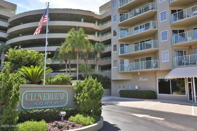 Daytona Beach Shores Condo/Townhouse For Sale: 4 Oceans West Boulevard #605C