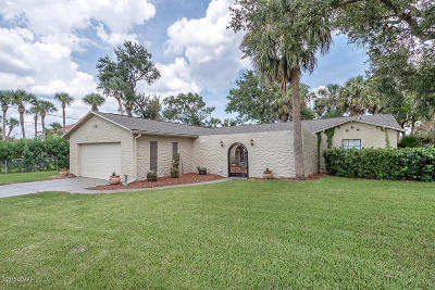 South Daytona Single Family Home For Sale: 2429 S Palmetto Avenue