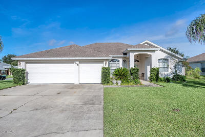 Port Orange Single Family Home For Sale: 5476 Ward Lake Drive