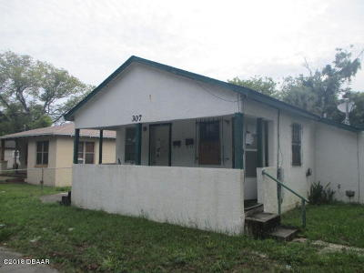 Volusia County Multi Family Home For Sale: 307 N Caroline Street
