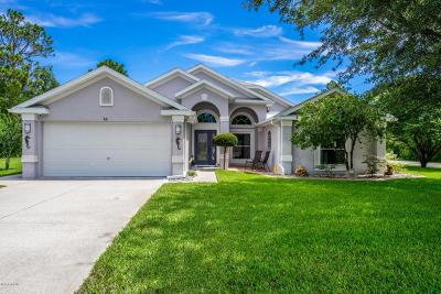 Palm Coast Single Family Home For Sale: 14 President Lane