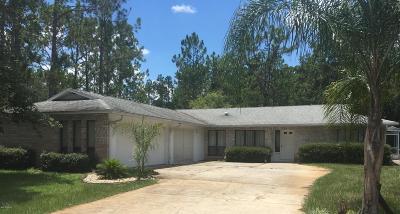 Palm Coast Single Family Home For Sale: 5 Zaharoff Place
