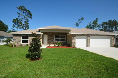 Palm Coast Single Family Home For Sale: 64 Bronson Lane