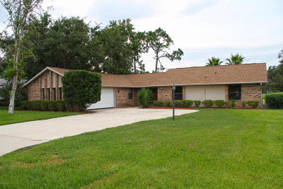 Port Orange FL Single Family Home For Sale: $297,300