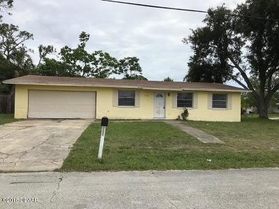 Volusia County Single Family Home For Sale: 1390 Wright Street