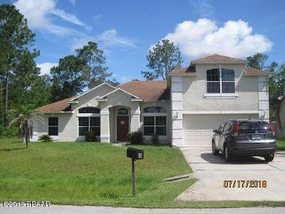 Palm Coast Single Family Home For Sale: 8 Sea Ship Place