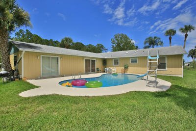 New Smyrna Beach Single Family Home For Sale: 1806 Bayview Drive
