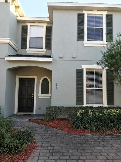 Daytona Beach Condo/Townhouse For Sale: 103 Aston Grande Drive