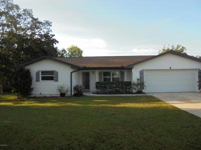 Ormond Beach FL Single Family Home For Sale: $210,000