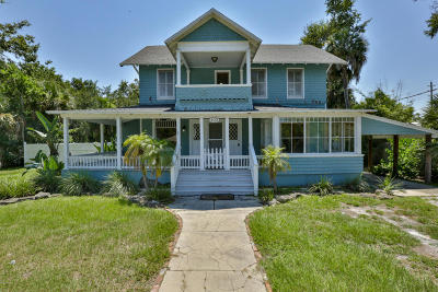 New Smyrna Beach Single Family Home For Sale: 402 Faulkner Street
