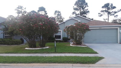 Daytona Beach Single Family Home For Sale: 445 Dahoon Holly Drive