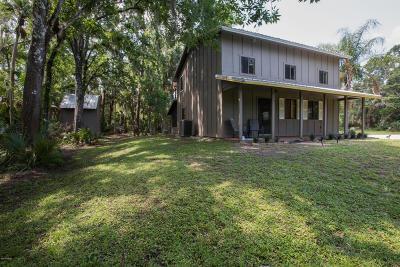 New Smyrna Beach Single Family Home For Sale: 2724 Turnbull Bay Road