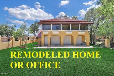Daytona Beach Single Family Home For Sale: 615 N Peninsula Drive
