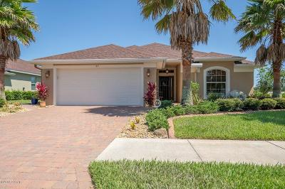 Palm Coast Single Family Home For Sale: 25 Graham Trail