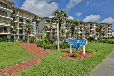 Volusia County Condo/Townhouse For Sale: 2700 Ocean Shore Boulevard #514