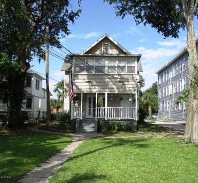 Volusia County Multi Family Home For Sale: 340 S Palmetto Avenue
