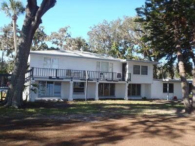 Port Orange Single Family Home For Sale: 5080 Riverside Drive #1, 2&3