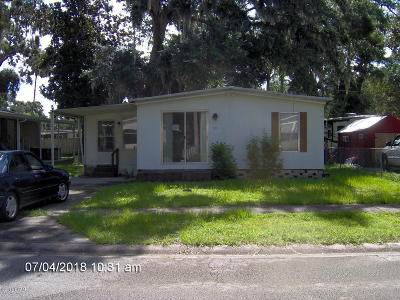 Port Orange Single Family Home For Sale: 59 Golden Gate Circle