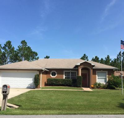 Palm Coast Single Family Home For Sale: 56 Freneau Lane
