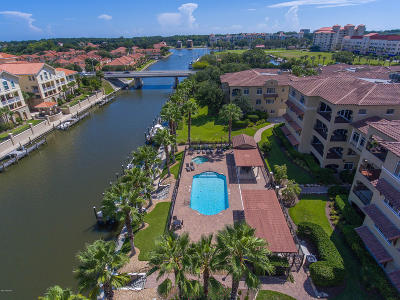 Palm Coast Condo/Townhouse For Sale: 110 Club House Drive #101