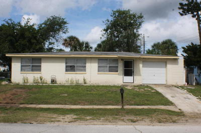 Daytona Beach Single Family Home For Sale: 1130 Lewis Drive