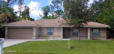 Palm Coast Single Family Home For Sale: 56 Pine Cir Drive