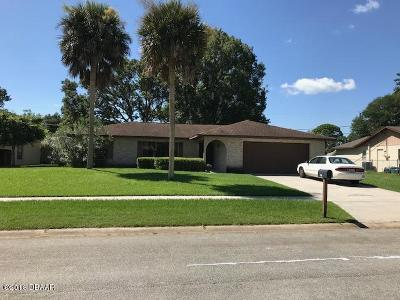 Port Orange Single Family Home For Sale: 736 Hillville Drive