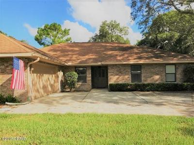 Port Orange Single Family Home For Sale: 1823 Spruce Creek Boulevard
