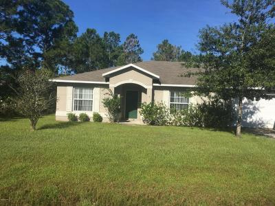Palm Coast Single Family Home For Sale: 9 Seville Place