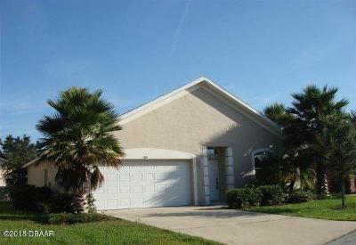 Daytona Beach Single Family Home For Sale: 108 Herring Gull Court