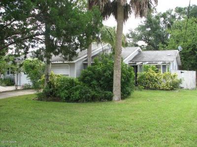 Port Orange Single Family Home For Sale: 1040 Charles Street
