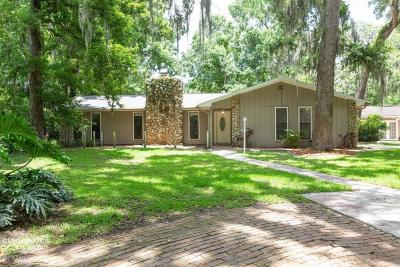 New Smyrna Beach Single Family Home For Sale: 625 Wildwood Drive